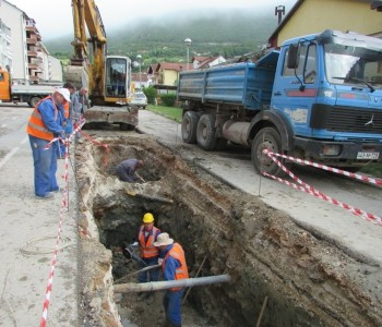Radovi u Splitskoj ulici