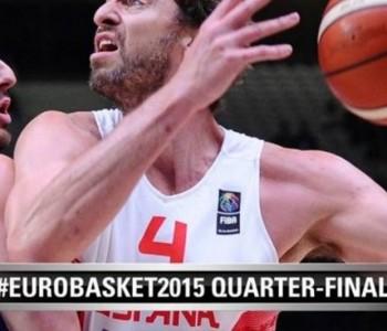 Eurobasket: Španjolska u neizvjesnoj utakmici s Grčkom izborila polufinale