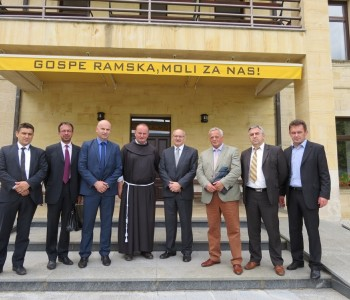 Veleposlanik Del Vechio posjetio Općinu Prozor-Rama
