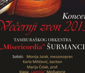 "NAJAVA: Koncert ""Večernji zvon 2015."" na Šćitu"