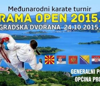 Najava: Međunarodni karate turnir RAMA OPEN 2015.