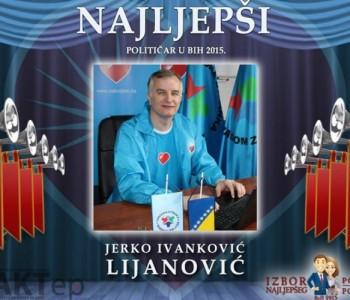 Jerko Ivanković Lijanović pobijedio na izboru za najljepšeg političara BiH u 2015.