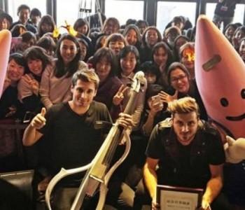 U Japanu proglašen 2CELLOS Dan!