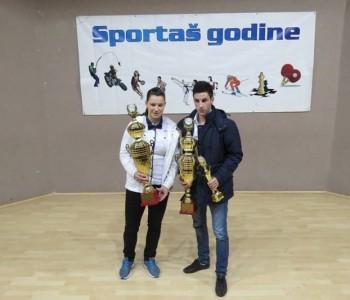 Delfina Tadić i Ivan Križanac najbolji sportaši u 2014.godini