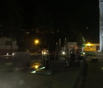Fontana noću