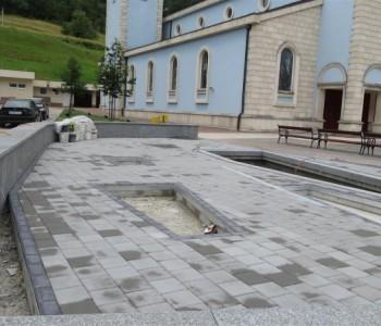 Nova fontana uskoro će krasiti trg dr. Josipa Stadlera u Prozoru