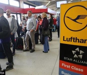 Piloti Lufthanse ponovno u štrajku