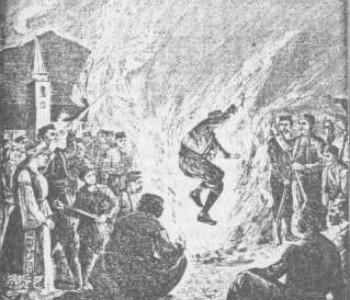 Običaj paljenja Ivandanskih svitnjaka u Rami