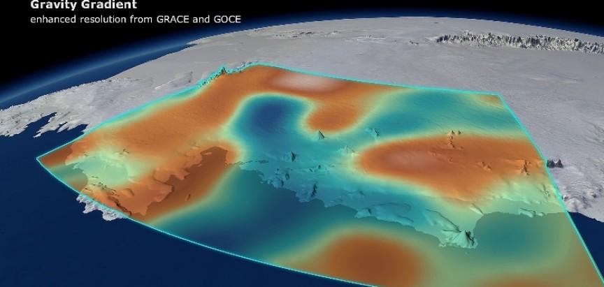 Otapanje Antarktike slabi Zemljinu gravitaciju