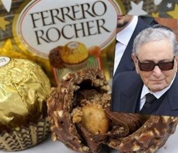 Umro kralj čokolade, Michele Ferrero