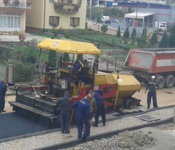 FOTO: Započelo asfaltiranje Splitske ulice u Prozoru