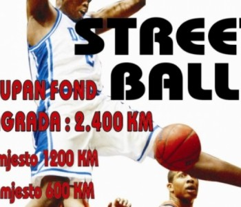 Danas započinje 12. Streetball Prozor – Rama .
