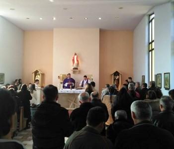 Mladi Dubrovačke biskupije na nedjeljnoj svetoj misi na Lugu
