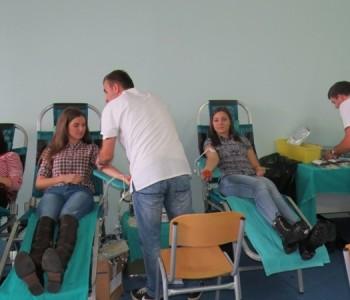U Prozoru održana četvrta redovna akciju darivanja krvi: Daruj krv – najdragocjeniji poklon