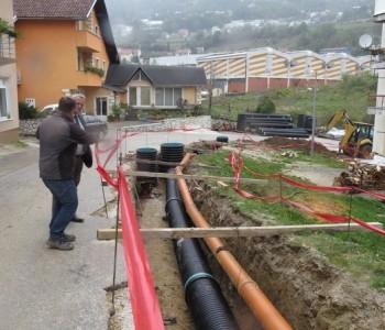 Počeli radovi na uređenju dijela Splitske ulice