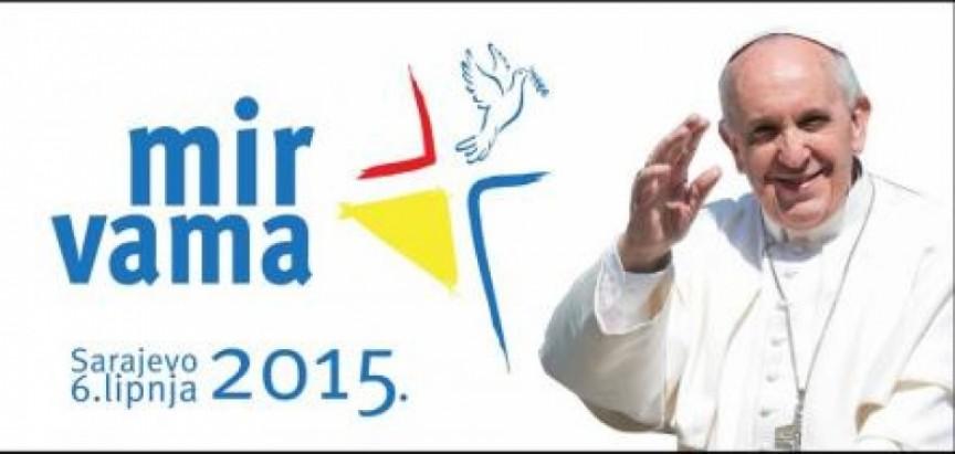Predstavljeni geslo, logotip i plakat za Papin pohod Sarajevu i BiH