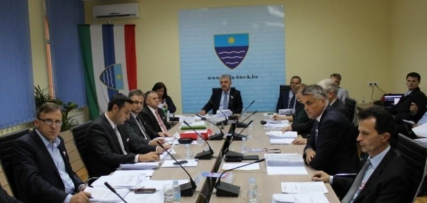 Održana 3. sjednica Vlade HNŽ-a