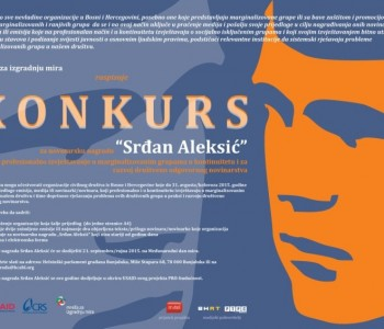 Natječaj za novinarsku nagradu Srđan Aleksić