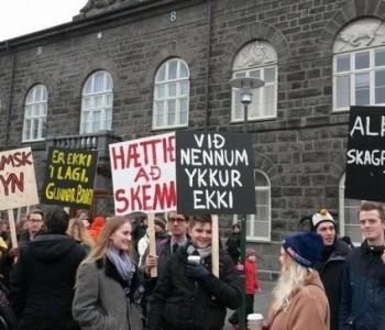Islanđani prosvjeduju zbog opoziva kandidature za EU