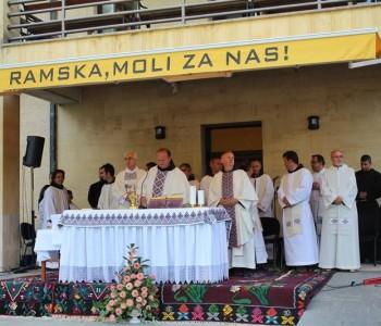 Foto: Na Šćitu služena misa Uočnica