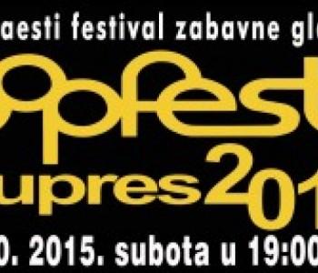 Šesnaesti festival zabavne glazbe – Pop Fest Kupres 2015.