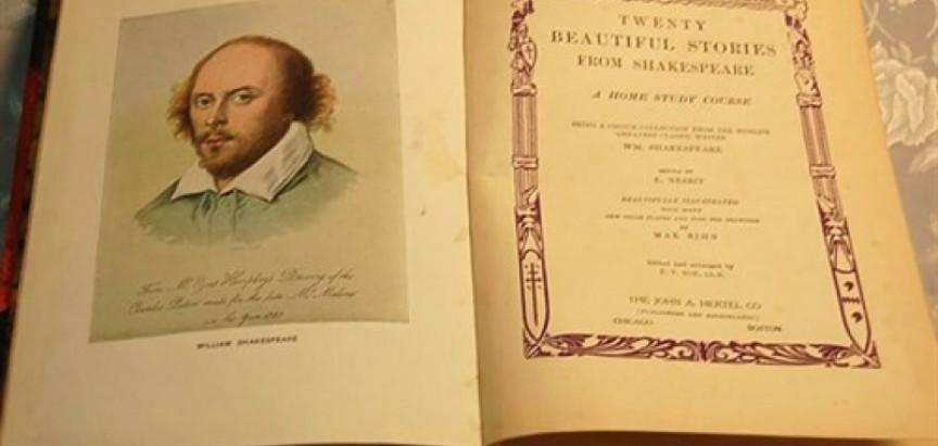 Pronađeno prvo izdanje zbirke Shakespeareovih drama