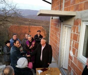 FOTO: Miličevići će Božić dočekati u novoj kući