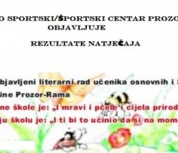Rezultati natječaja za najbolji literarni rad