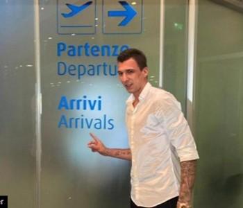 Mario Mandžukić stigao u Torino