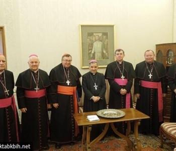 Biskupi BiH Vatikan upozorili na smanjenje broja Hrvata