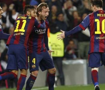 Rakitić zabio prvi gol u Ligi prvaka, i Guardiola zapljeskao Hrvatu
