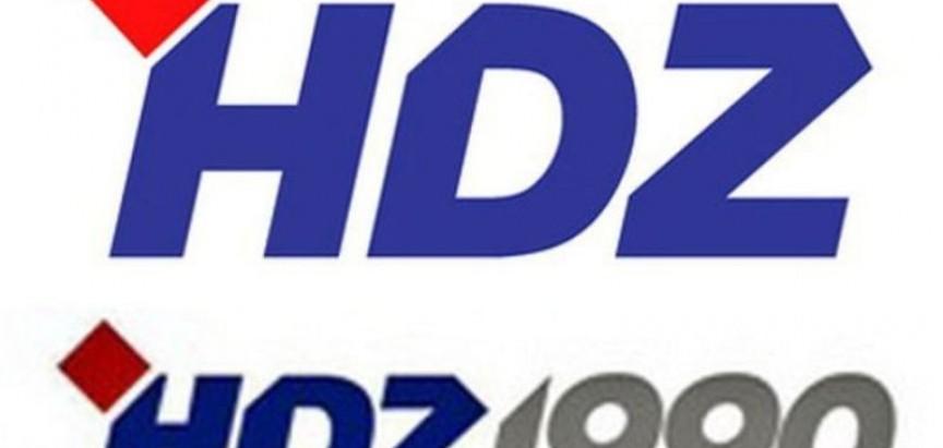 Poziv na Središnji predizborni skup HDZa 1990 u Mostaru