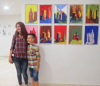 FOTO: Izložba škole crtanja i slikanja
