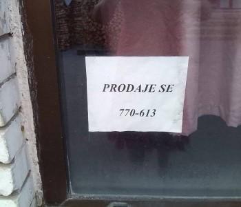 Prodaje se garaža u Prozoru