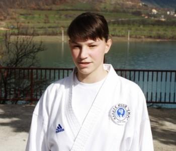 Delfina Tadić zlatna na Državnom prvenstvu u karateu
