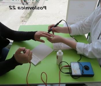 Ljekarna Lupriv u Prozoru: Održano besplatno mjerenje minerala i vitamina u organizmu