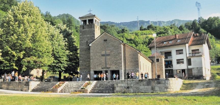 Najava za proslavu sv. Ante
