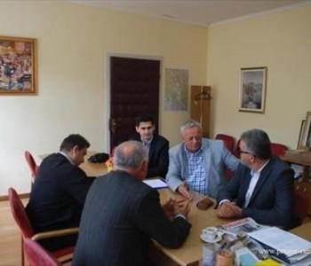 Predsjednik Uprave HT Eronet Stipe Prlić prošli tjedan posjetio Općinu Prozor-Rama