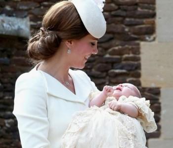 Krštena princeza Charlotte Elizabeth Diana