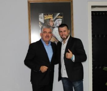 Predsjednik Herceg primio boksača Damira Belju