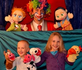 Najava: Lutkarska predstava i klaun Saša u Domu kulture u Prozoru