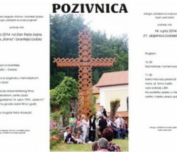 Program obilježavnja 21. obljetnice uzdolskih žrtava