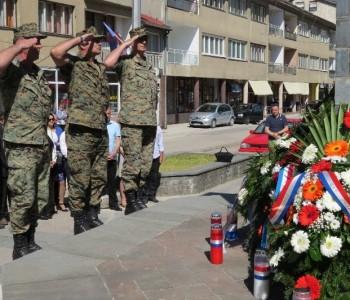 """FOTO: Svečano obilježena 23. obljetnica brigade """"Rama"""""""