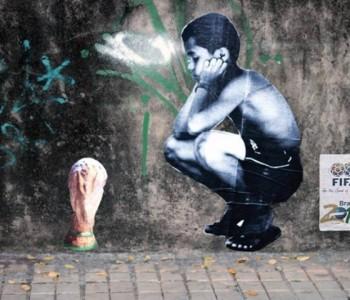 FOTO: Grafiti u Brazilu protiv Fife