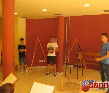Poziv na Izložbu radova mladih ramskih umjetnika