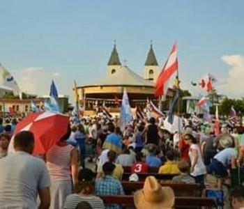 FOTO/VIDEO: Ovako su Ramljaci doživjeli Mladifest u Međugorju