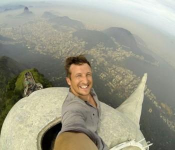 Najluđi selfie: Britanac se fotografirao s vrha kipa Krista Iskupitelja u Riju