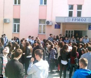 Prosvjed studenata u Mostaru zbog dodatnog plaćanja