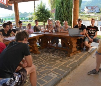 """LT ASuBiH Prozor-Rama: Počeo ljetni kamp """"OMIKRON"""""""