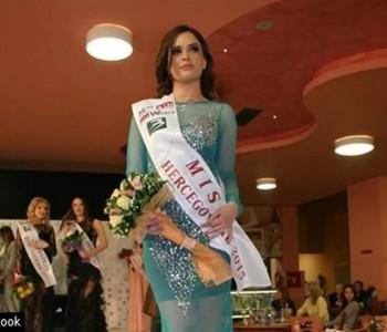 Dajana Martić iz Čapljine osvojila titulu Miss Hercegovine